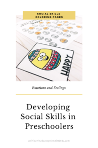 5 social skills activities for kids - Cultivating Exceptional Minds